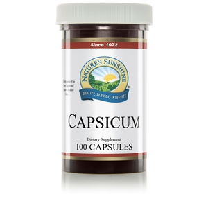 Capsicum (100 Caps) By Nature's Sunshine