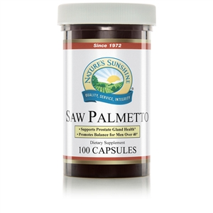 Saw Palmetto (100 Caps) By Nature's Sunshine