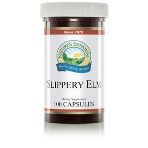Slippery Elm (100 Caps) By Nature's Sunshine