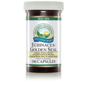 Echinacea/Golden Seal (100 Caps) By Nature's Sunshine