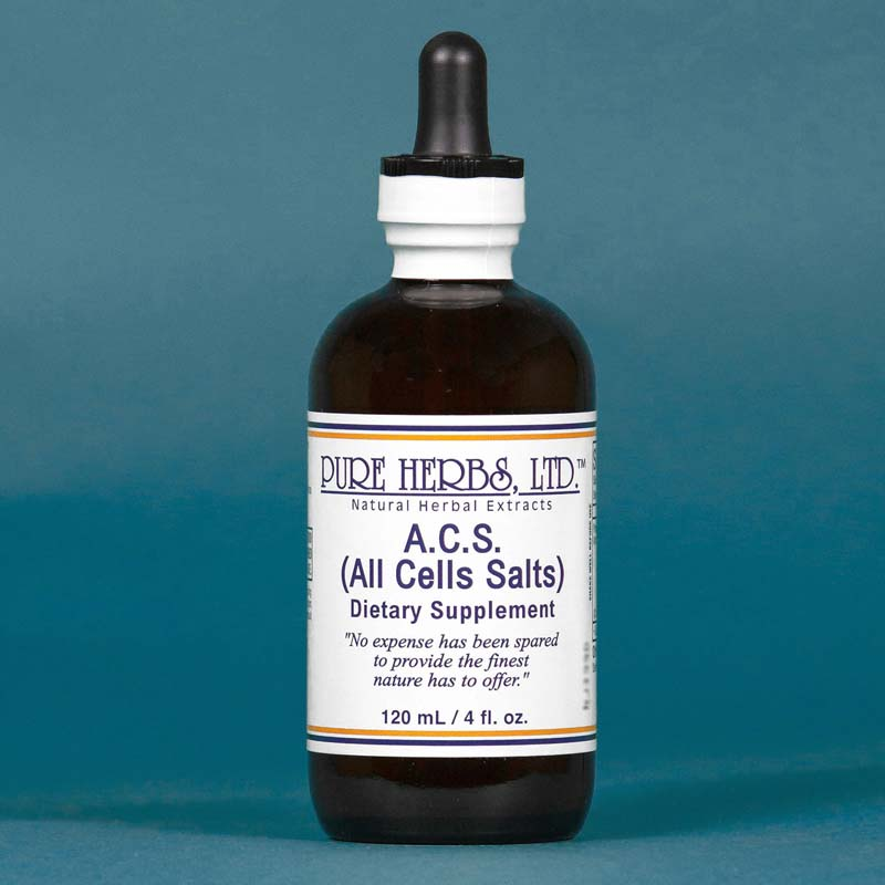 A.C.S. (All Cells Salts) 4 fl. oz.