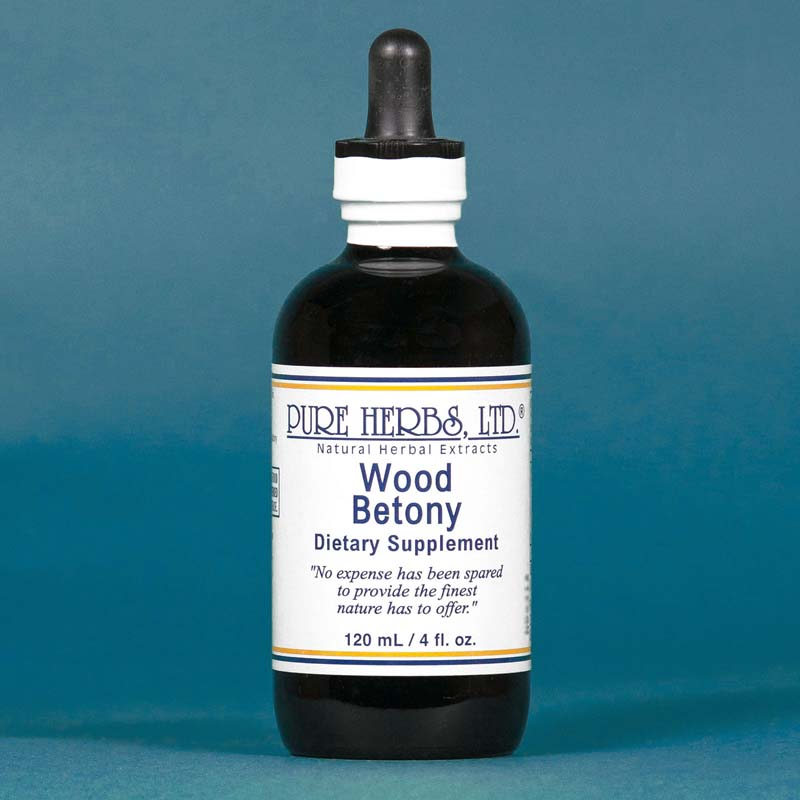 Wood Betony Extract  4 fl. oz.