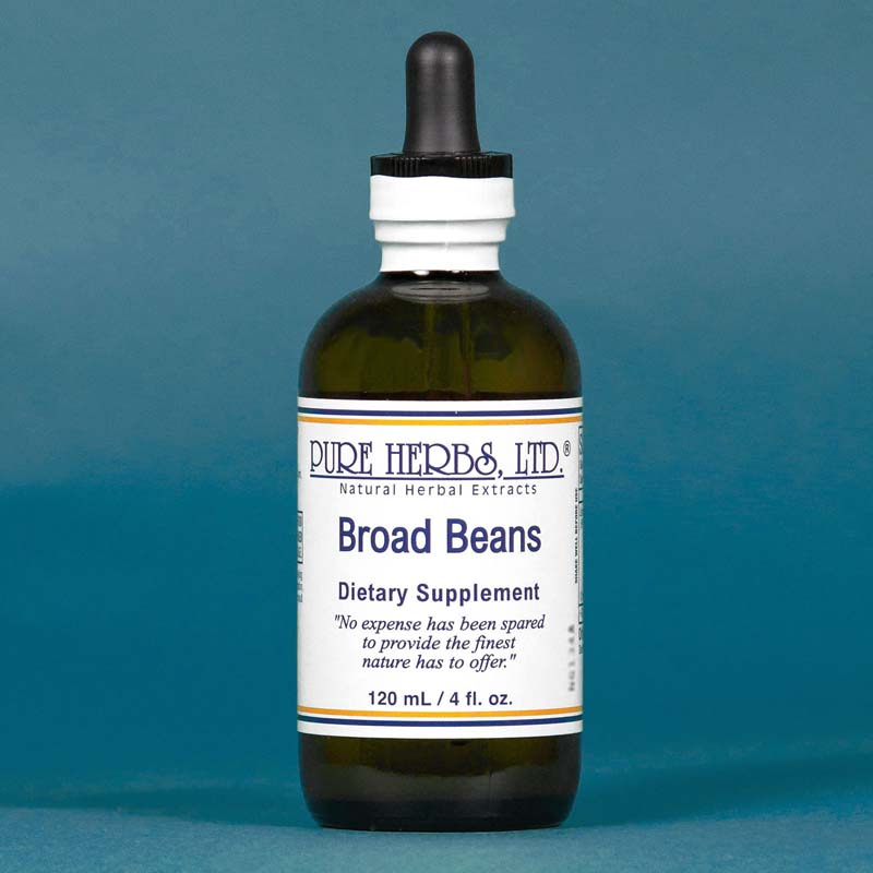 Broad Beans Extract  4 fl. oz.