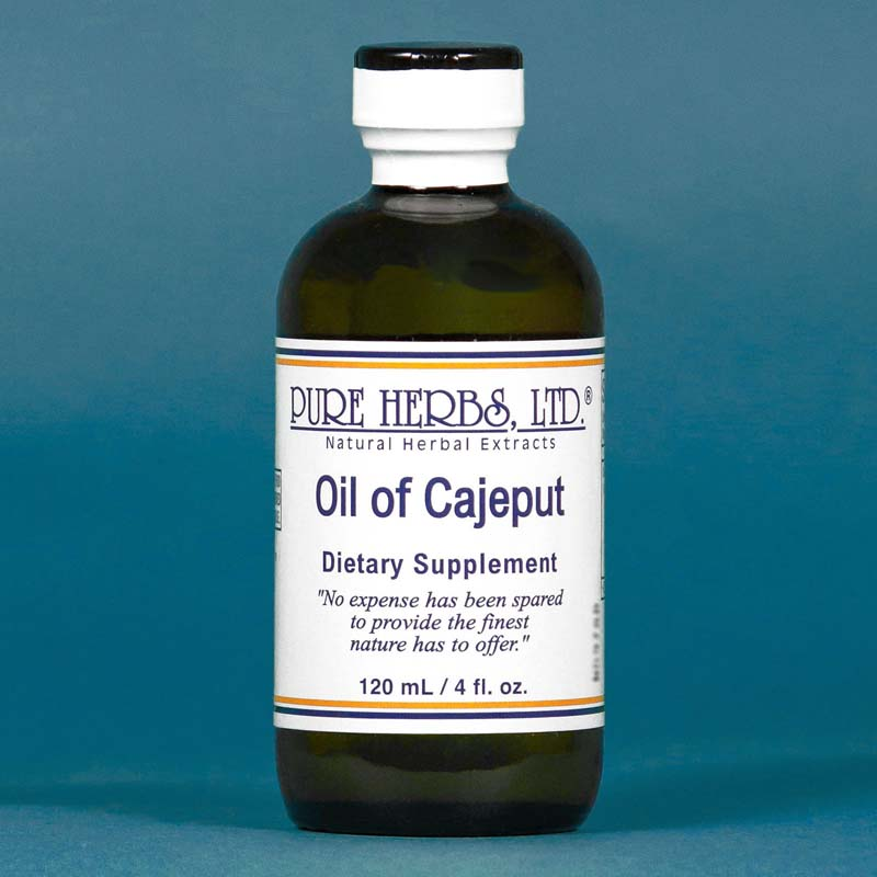 CURRENTLY UNAVAILABLE Oil of Cajeput 4 fl. oz.