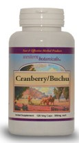 Cranberry/Buchu 100 Capsules By Western Botanicals