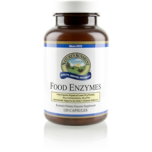 Food Enzymes (120 caps) by Nature's Sunshine
